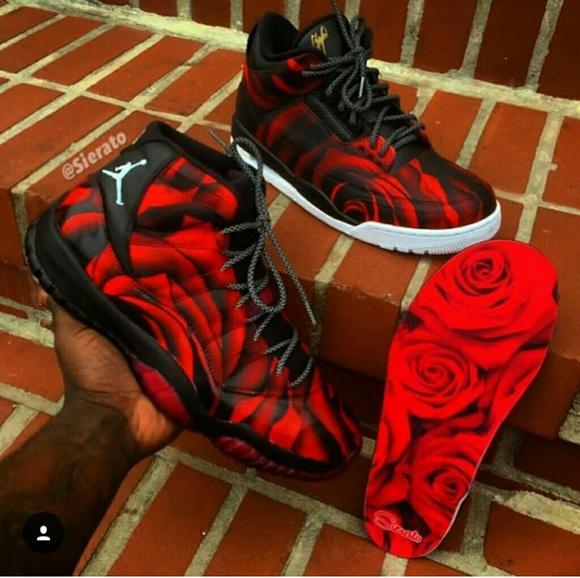 Rose red jordan 11